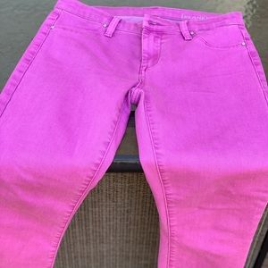 Blank NYC Jeans - [Blank NYC] Magenta coloured jeans